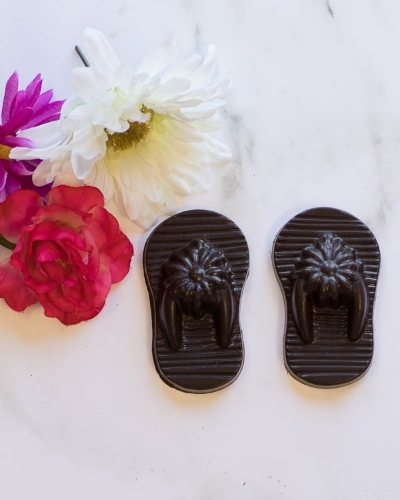 Picture of Chocolate Flip Flops